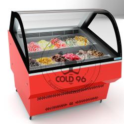 exhibidor para helados artesanales